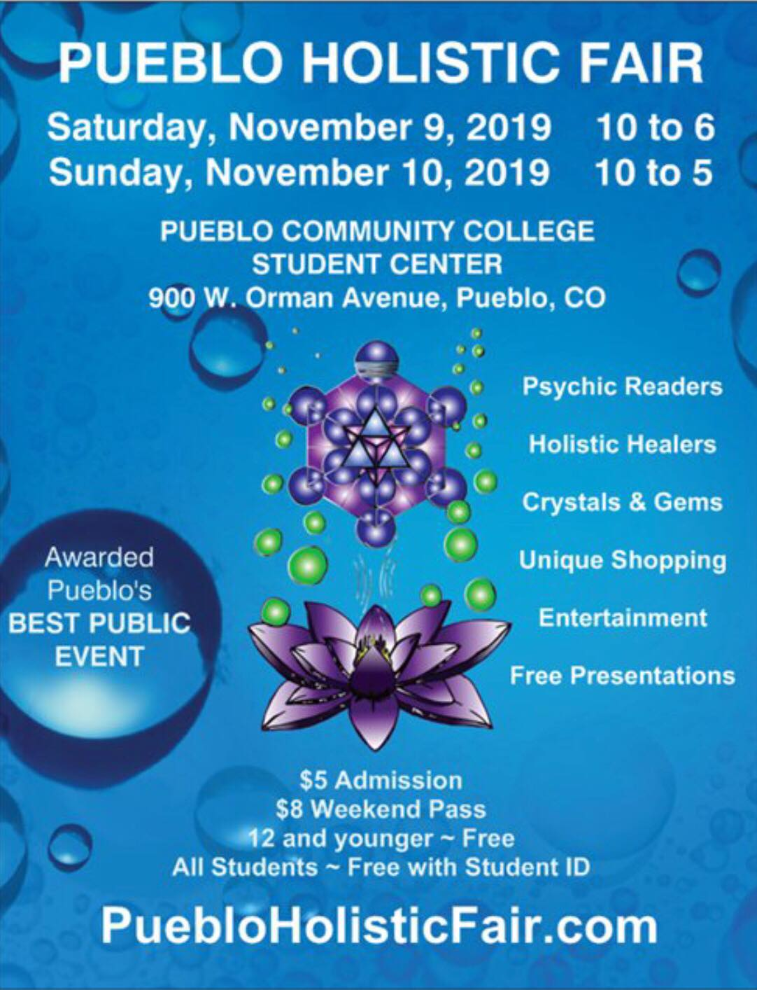 Welcome to the Pueblo Holistic Fair - Home